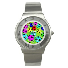 Balls Colors Stainless Steel Watch