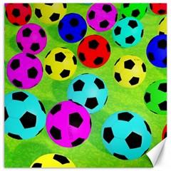Balls Colors Canvas 20  x 20