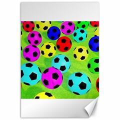Balls Colors Canvas 20  X 30