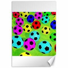 Balls Colors Canvas 24  x 36