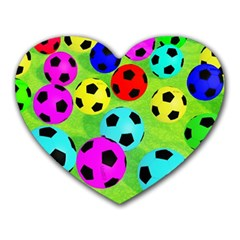 Balls Colors Heart Mousepads