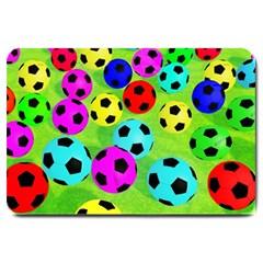 Balls Colors Large Doormat