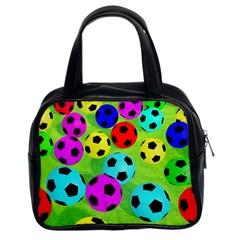 Balls Colors Classic Handbags (2 Sides)