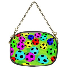 Balls Colors Chain Purses (one Side)
