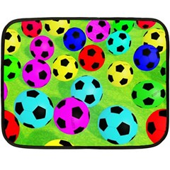 Balls Colors Double Sided Fleece Blanket (Mini)