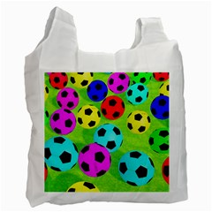 Balls Colors Recycle Bag (one Side)