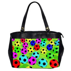 Balls Colors Office Handbags (2 Sides)