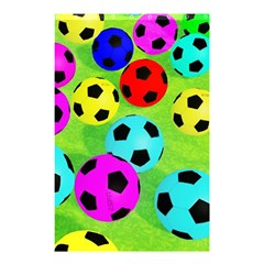 Balls Colors Shower Curtain 48  X 72  (small)