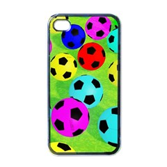Balls Colors Apple iPhone 4 Case (Black)