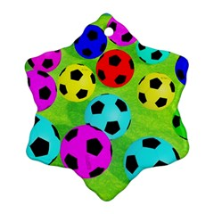 Balls Colors Ornament (Snowflake)