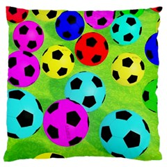 Balls Colors Large Cushion Case (Two Sides)