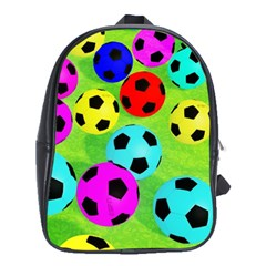 Balls Colors School Bags (xl)