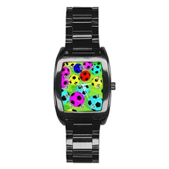 Balls Colors Stainless Steel Barrel Watch