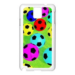 Balls Colors Samsung Galaxy Note 3 N9005 Case (White)