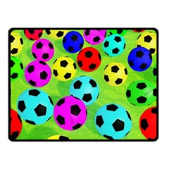 Balls Colors Double Sided Fleece Blanket (small)