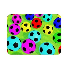 Balls Colors Double Sided Flano Blanket (Mini)
