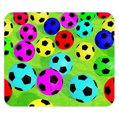 Balls Colors Double Sided Flano Blanket (small)
