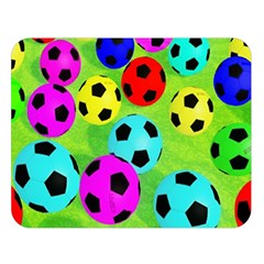 Balls Colors Double Sided Flano Blanket (Large)