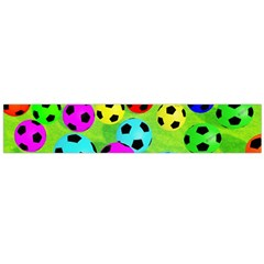 Balls Colors Flano Scarf (Large)