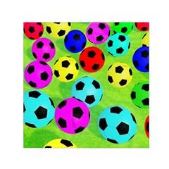 Balls Colors Small Satin Scarf (square)
