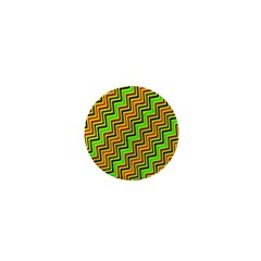 Green Red Brown Zig Zag Background 1  Mini Buttons