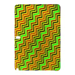 Green Red Brown Zig Zag Background Samsung Galaxy Tab Pro 10.1 Hardshell Case