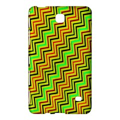 Green Red Brown Zig Zag Background Samsung Galaxy Tab 4 (7 ) Hardshell Case