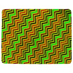 Green Red Brown Zig Zag Background Jigsaw Puzzle Photo Stand (Rectangular)