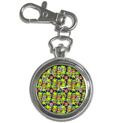 Smiley Monster Key Chain Watches