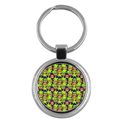 Smiley Monster Key Chains (Round)
