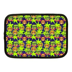 Smiley Monster Netbook Case (medium)