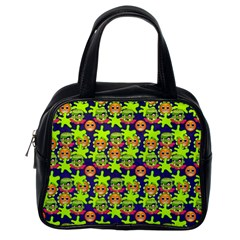 Smiley Monster Classic Handbags (one Side)