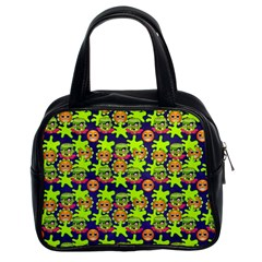 Smiley Monster Classic Handbags (2 Sides)