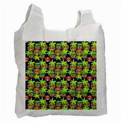 Smiley Monster Recycle Bag (Two Side)
