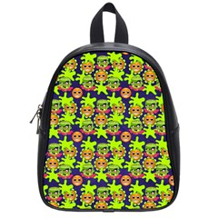 Smiley Monster School Bags (Small)