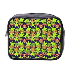 Smiley Monster Mini Toiletries Bag 2 Side