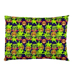 Smiley Monster Pillow Case (Two Sides)