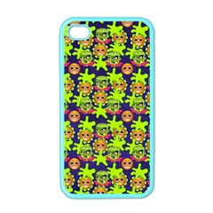 Smiley Monster Apple iPhone 4 Case (Color)