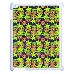 Smiley Monster Apple iPad 2 Case (White)