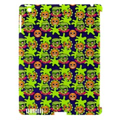Smiley Monster Apple iPad 3/4 Hardshell Case (Compatible with Smart Cover)