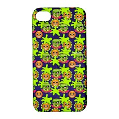 Smiley Monster Apple iPhone 4/4S Hardshell Case with Stand