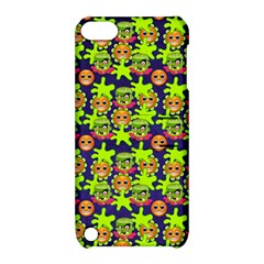 Smiley Monster Apple iPod Touch 5 Hardshell Case with Stand
