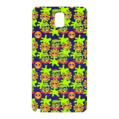Smiley Monster Samsung Galaxy Note 3 N9005 Hardshell Back Case