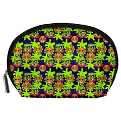 Smiley Monster Accessory Pouches (Large)