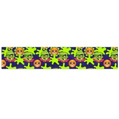 Smiley Monster Flano Scarf (large)