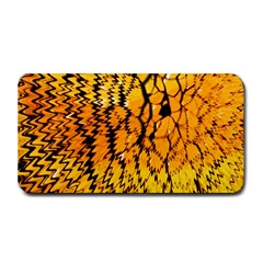 Yellow Chevron Zigzag Pattern Medium Bar Mats