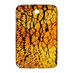 Yellow Chevron Zigzag Pattern Samsung Galaxy Note 8 0 N5100 Hardshell Case