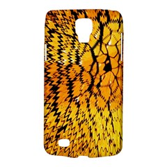 Yellow Chevron Zigzag Pattern Galaxy S4 Active