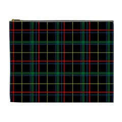 Tartan Plaid Pattern Cosmetic Bag (XL)