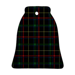 Tartan Plaid Pattern Bell Ornament (Two Sides)